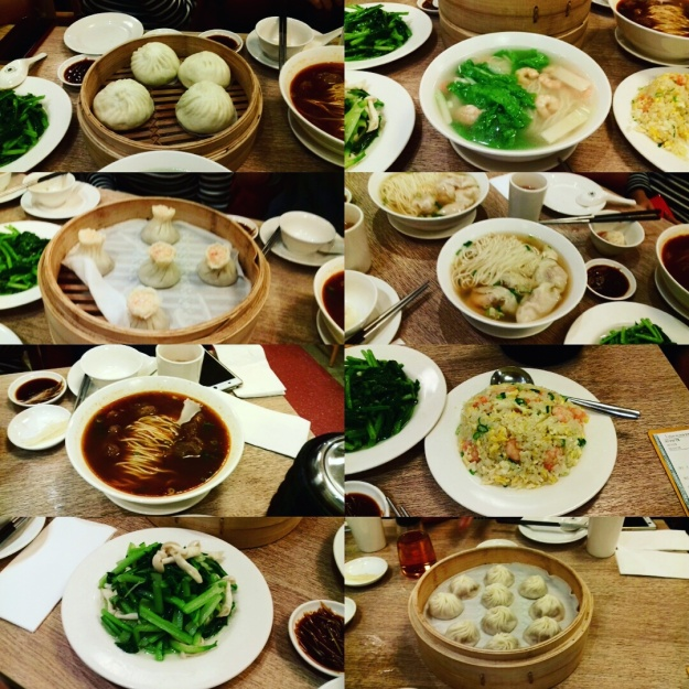 Din Tai Fung lunch